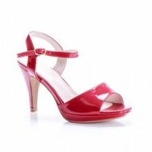 Sandale Doucet rosii cu toc