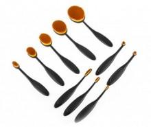 Set 10 pensule pentru machiaj InnovaGoods Oval