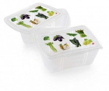 Set 2 caserole Vegetables 2 L