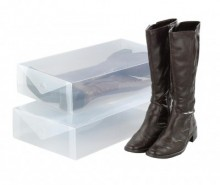 Set 2 cutii pentru depozitare cizme Ayden