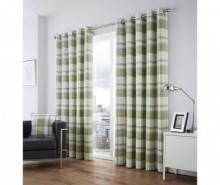 Set 2 draperii Balmoral Green 117x183 cm