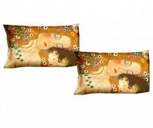 Set 2 fete de perna Klimt Mother and Child 50x80 cm