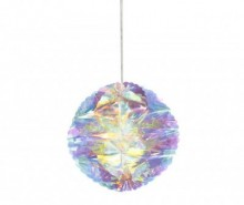 Set 3 decoratiuni suspendabile Iridescent