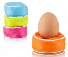 Set 4 suporturi pentru ou fiert Pillow