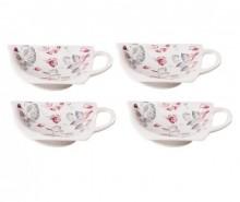 Set 4 suporturi pentru plicuri de ceai Rosita