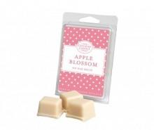 Set 6 bucati de ceara parfumata Polka Dot Apple Blossom