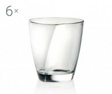 Set 6 pahare pentru whisky Happy 220 ml