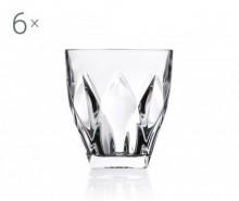 Set 6 pahare pentru whisky Ninphea 330 ml
