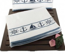 Set 6 prosoape de baie Sailor 30x50 cm