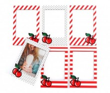 Set 6 rame foto magnetice Cherry