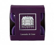 Set 8 lumanari parfumate Lavender Lime
