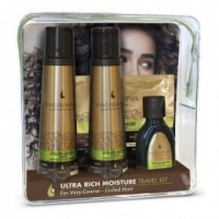 Set Calatorie Hidratant pentru Bucle - Macadamia Professional Ultra Rich Moisture Travel Kit