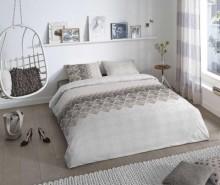 Set de pat Double Abigale Taupe