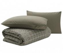 Set de pat Double Percale Mosaic