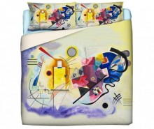 Set de pat King Ranforce Kandinsky