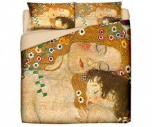 Set de pat King Ranforce Klimt Mother and Child