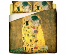 Set de pat King Ranforce Klimt The Kiss