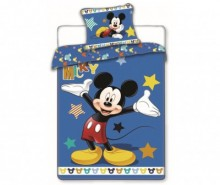 Set de pat Single Ranforce Mickey Mouse Star