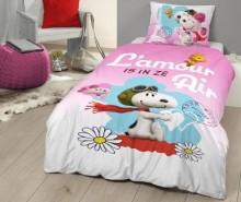 Set de pat Single Ranforce Snoopy