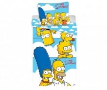 Set de pat Single Ranforce The Simpsons Family