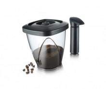 Set recipient cu capac pentru cafea si pompa de vidat Phylis 1.3 L