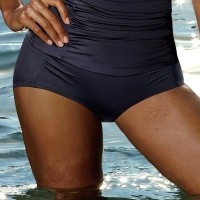 Slip costum de baie curves Fiji Black