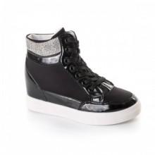 Sneakers Aubine negri confortabili