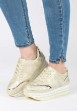 Sneakers cu platforma Berhane Bej
