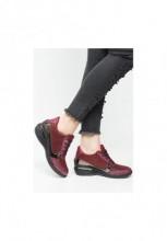 Sneakers cu platforma Spira Rosu