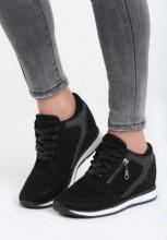 Sneakers dama Glossy Negru