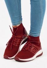 Sneakers dama Iuno Rosu