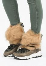 Sneakers dama Segama Camel