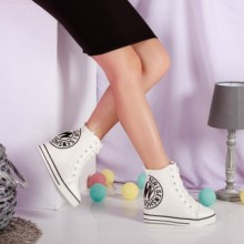 Sneakers Gweneth albi