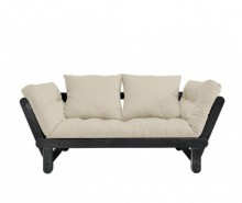 Sofa extensibila Beat Black and Dove Grey