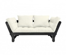 Sofa extensibila Beat Black and White