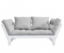 Sofa extensibila Beat Daydream White and Light Grey