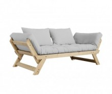 Sofa extensibila Bebop Natural and Grey