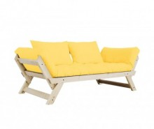 Sofa extensibila Bebop Natural and Yellow