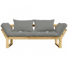 Sofa extensibila Edge Honey and Granite Grey