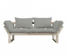 Sofa extensibila Edge Natural and Granite Grey