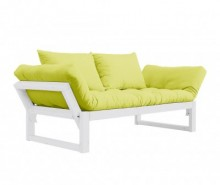 Sofa extensibila Edge White and Pistachio