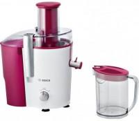 Storcator de fructe si legume Bosch MES25C0 700W tub alimentare XL alb - rosu cassis