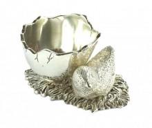 Suport pentru ou fiert Chiken Silver