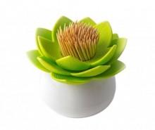 Suport pentru scobitori Lotus White Green