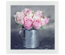 Tablou Bouquet Roses 30x30 cm