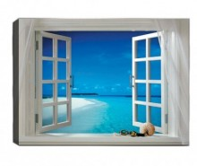 Tablou Open Window 50x70 cm