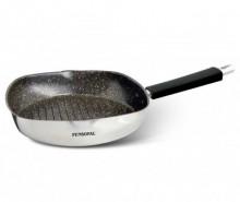 Tigaie grill Perfecta 28x28 cm