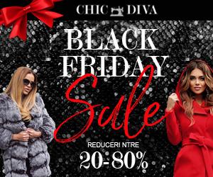 Black Friday ChicDiva, reduceri de pana la 80% la haine de dama