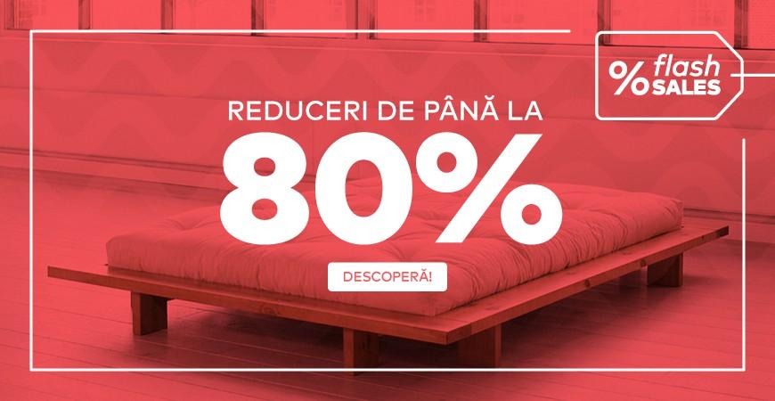 Flash Sale, Pana la 80% reducere la cele mai cautate articole pentru casa