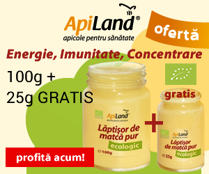 Promotii ApiLand, laptisor de matca PUR ecologic